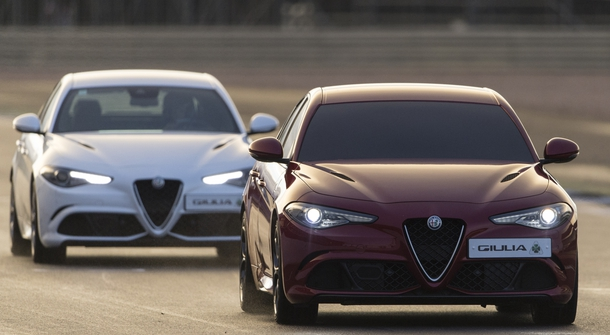 'Blindfolded' Giulia Quadrifolglio sets new lap record at Silverstone