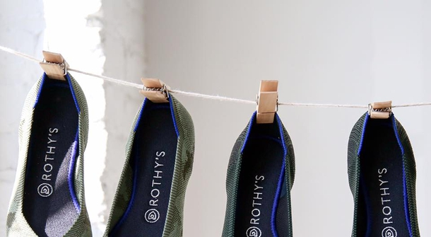 Rothy's, the environmentally friendly shoes made of recycled plastic