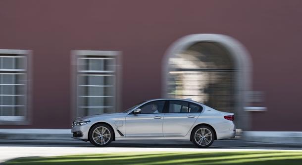 BMW 5 Series also as a plugin hybrid