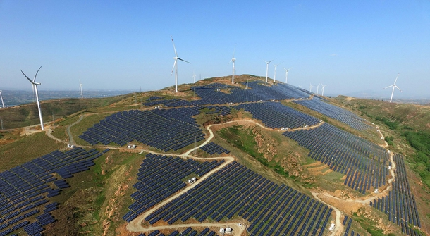 China investing billions in renewable energy