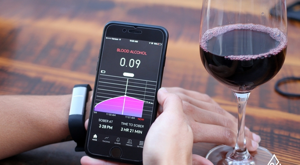 'Proof' wristband will let you know just how much you've drank
