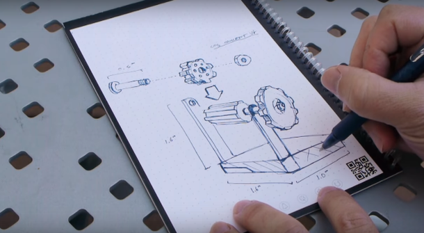The Everlast Notebook offers a classic pen and paper experience for the digital age