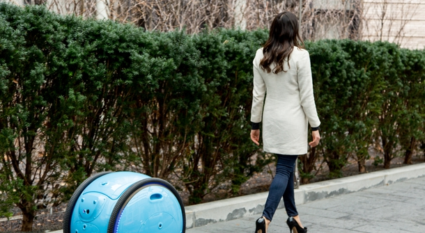 Robo-rollin': Piaggio's Gita follows you, everywhere you go