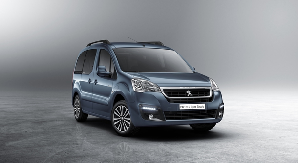 Peugeot Partner Electric will have a passanger version Tepee