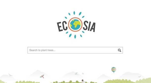 Plant tree while you search the web