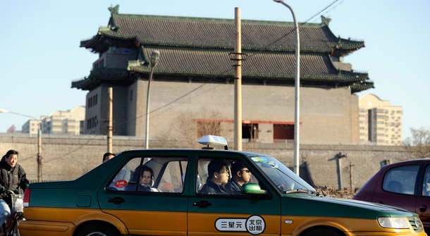 Beijing is replacing its fossil-fueled taxis with EVs