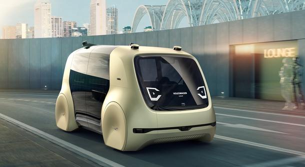 Self-driving Volkswagen 'Sedric' unveiled!