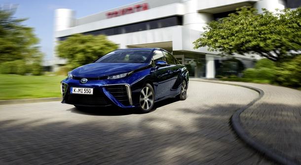 Toyota Mirai awarded five stars in German ADAC EcoTest