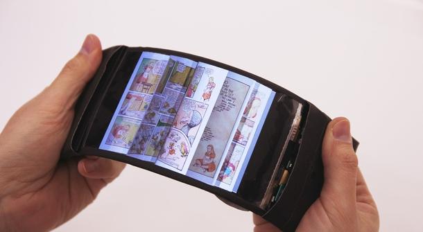 ReFlex, a flexible smartphone that bends!