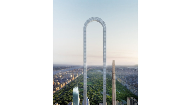 Luscious curves: The Big Bend, Oiio's U-shaped skyscraper for Manhattan