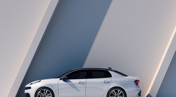 Lynk & Co is preparing its second model - this time it's a sedan