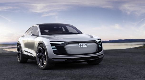 Audi announces their Tesla X rival