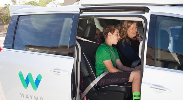 Waymo's self-driving minivans on public trial in Arizona