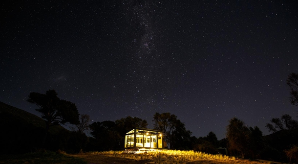 Sleep under the stars, but stay cosy in New Zealand