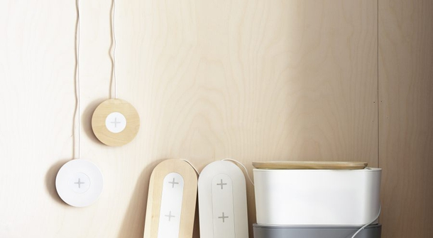 Wireless charging in furniture