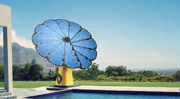 Smartflower : solar rose – the sun hunter