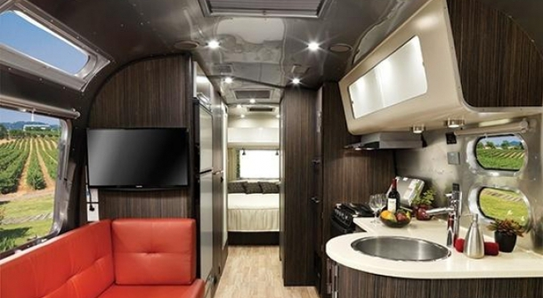 Airstream: luxury travel on wheels