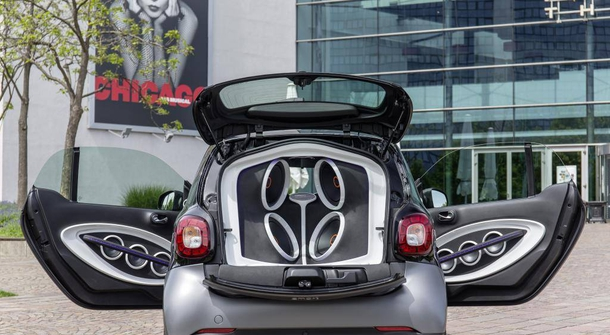 JBL Smart ForTwo - loudspeaker on the move
