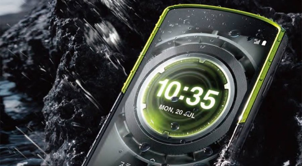 Kyocera Torque G02: a pretty picture under water
