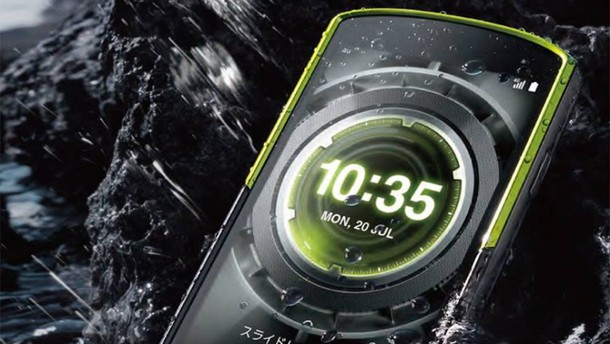 Torque GO2 lahko fotografira tudi v slani vodi.