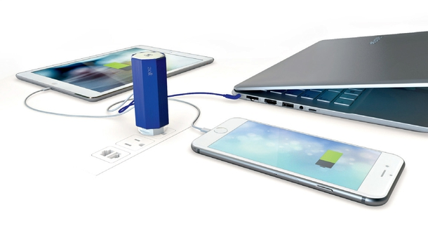 Zolt: The world's lightest, smallest and smartest charger