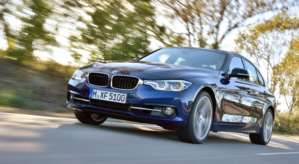 BMW 3-Series with hybrid model