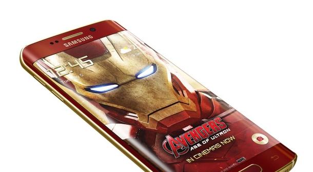 Galaxy Edge S6 goes Iron Man