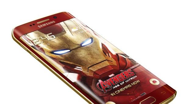 Samsungov Galaxy S6 edge v barvah Iron Mana-a.