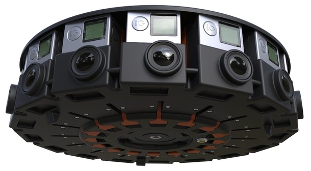 GoPro and Google for virtual reality