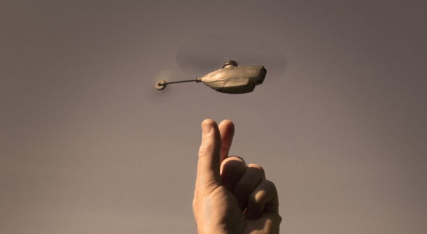 Small drones in war games