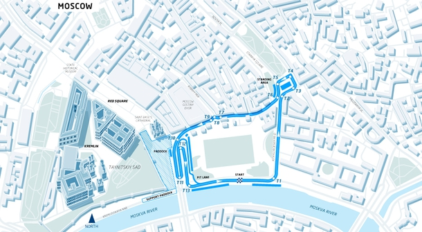Ninth Formula E race will take place on the Red Square in Moscow