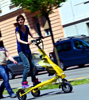 Driven: Trikke - green, clever and simple