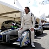 Dario Farnchitti, Formula E TV commentator and multiple Indycar champion tried the Formula E car.