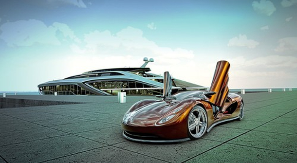 When Hypercars and Super Yachts meet