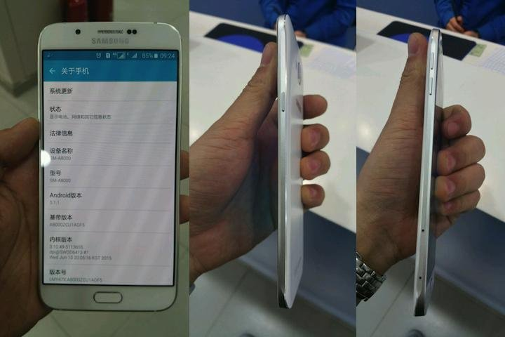 Images of Ultra-Thin Samsung Galaxy A8 Leaked