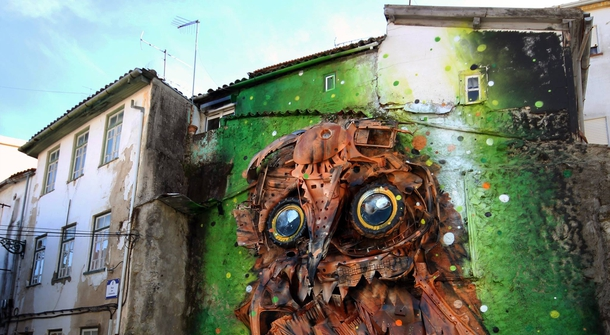 When Junk Becomes Art