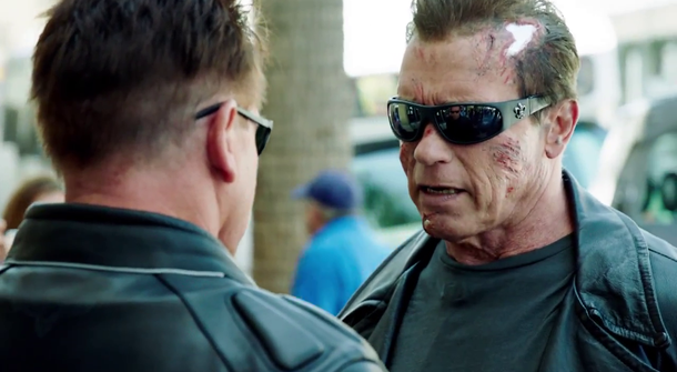 See Arnie Prank Fans as The Terminator