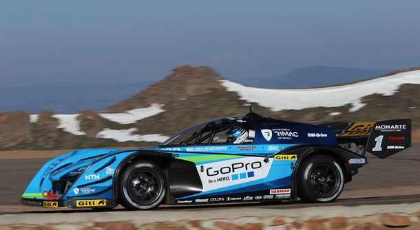 Electric cars dominating Pikes Peak