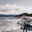 A green aviator on water: drive 100 kilometers for only 1 euro