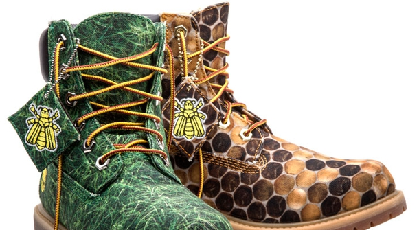 Timberland and Pharrell Williams designed eco boots