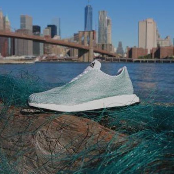 Adidas creates shoes out of ocean waste