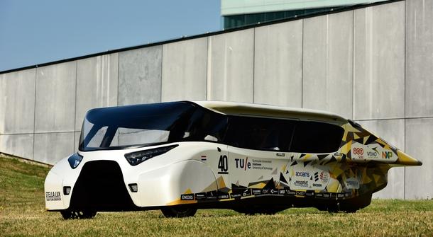 Dutch Students Create Solar Powered Family Car