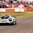 The hybrid supercar excels in Goodwood