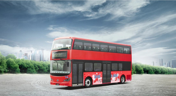 London's double-decker buses to go all-electric