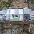 Awe-inspiring accommodation in the Andes