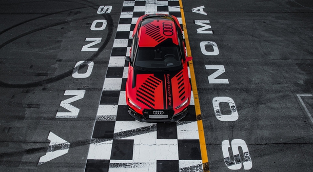 "Audi's Incredible Autonomous Race Car ""Robby"""