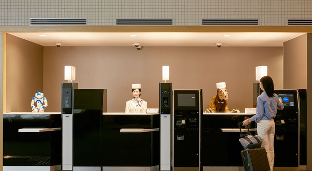 The first robot-operated hotel opens in Japan
