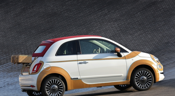Fiat Donates a Custom-made Fiat 500 to Support Humanitarian Cause