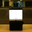 A lamp that is powered by tap water and table salt