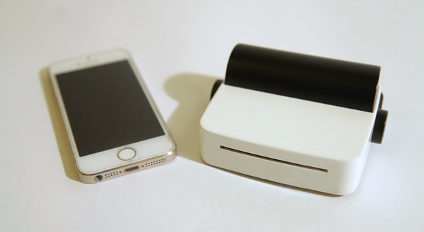 A handy little printer for your smart phone